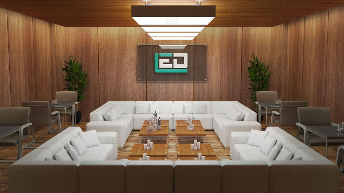 Meeting Room Interior Architectural Model By Leading Edge Designers