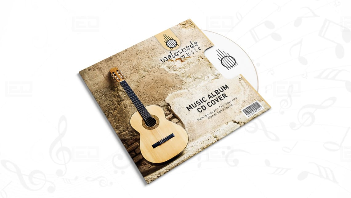 CD Cover Design by Leading Edge Designers