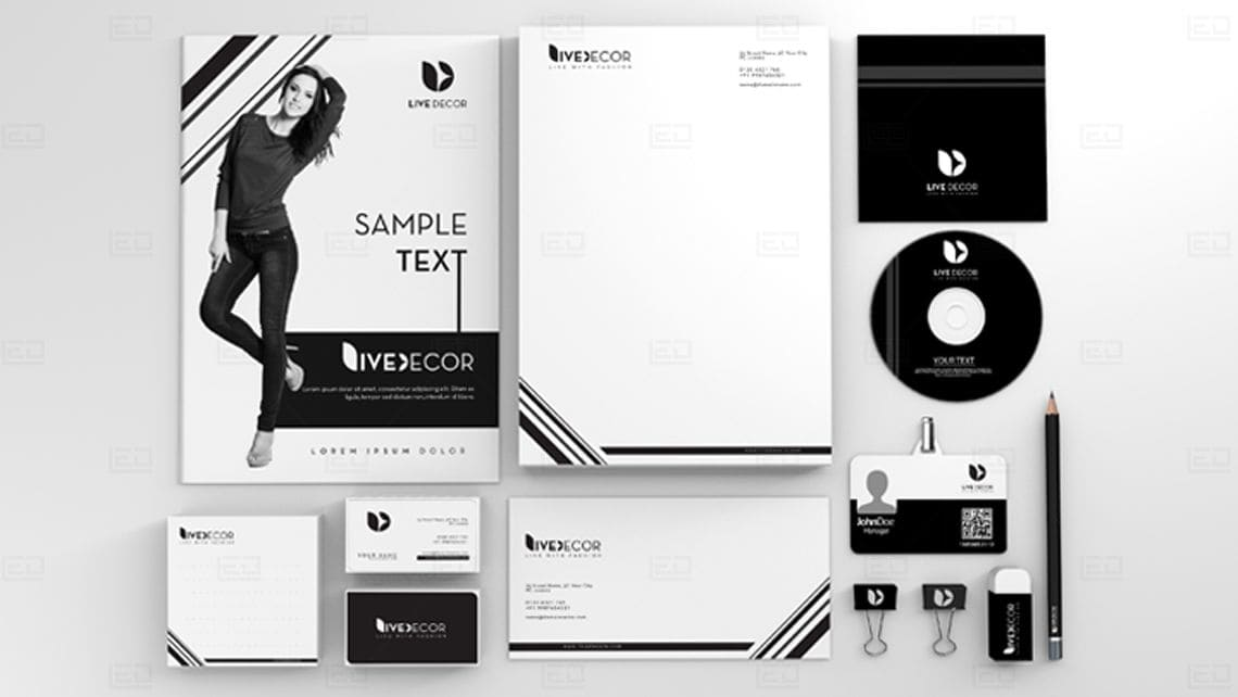 Sample Branding Design by Leading Edge Designers