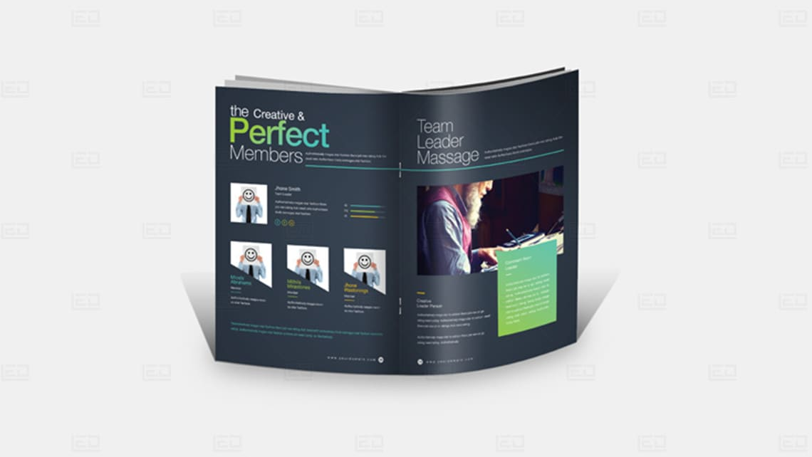Sample Brochure Design by Leading Edge Designers