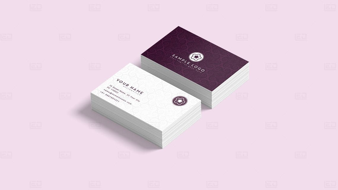 Sample Business Card Design by Leading Edge Designers