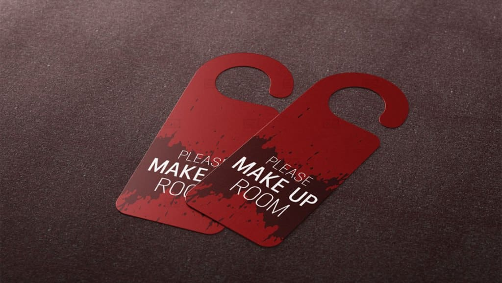 Sample Door Hanger Design by Leading Edge Designers