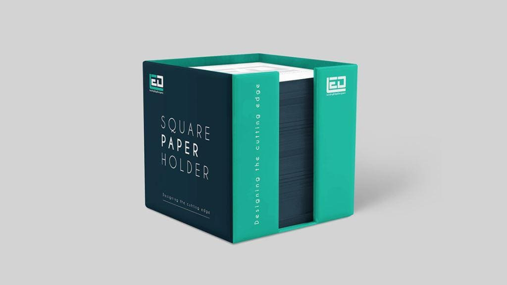 Square Print Holder Package Design by Leading Edge Designers