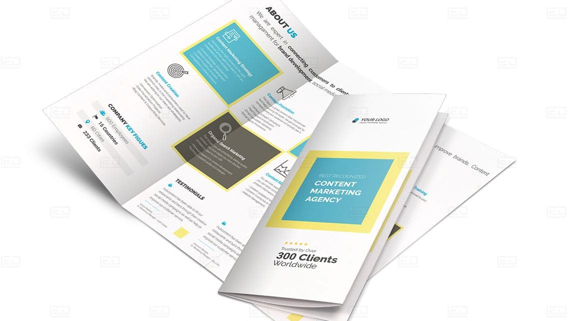 Sample Trifold Brochure Design by Leading Edge Designers