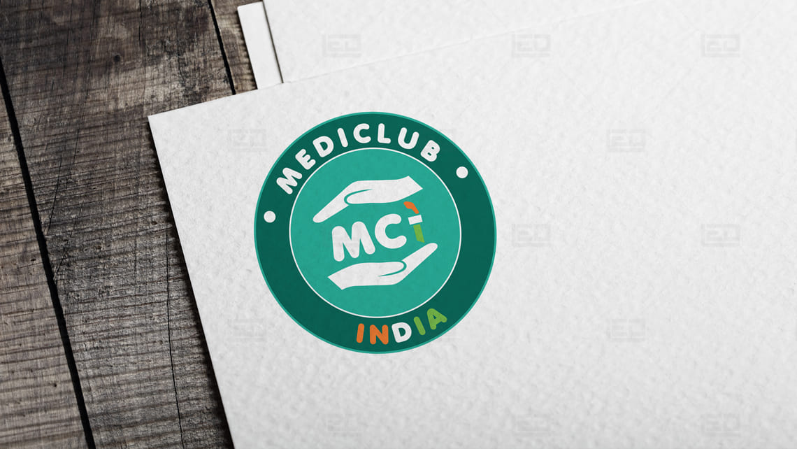 Mediclub Tube Logo by Leading Edge Designers