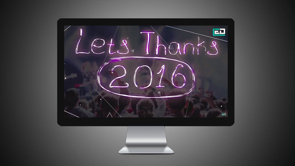 New Year Wishes Animation by Leading Edge Designers