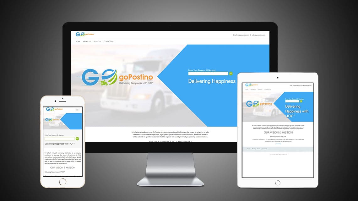 GoPostino Web Design By Leading Edge Designers