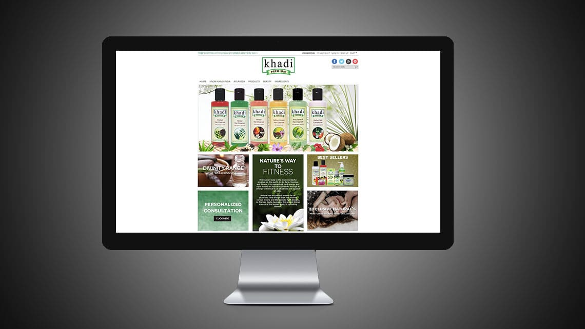Khadi Web Design By Leading Edge Designers