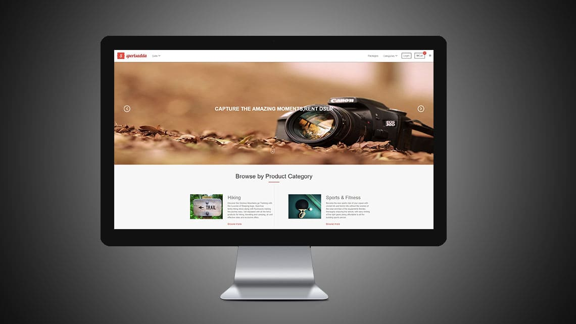 Sportsadda Web Design By Leading Edge Designers